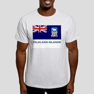 The Falkland Islands Flag Stuff Ash Grey T-Shirt