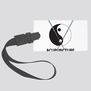 Acupuncture Large Luggage Tag
