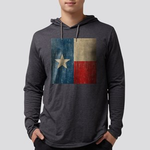 Vintage Texas Mens Hooded Shirt