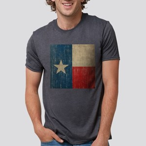 Vintage Texas Mens Tri-blend T-Shirt