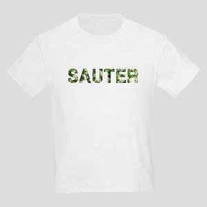 Sauter, Vintage Camo, Kids Light T-Shirt