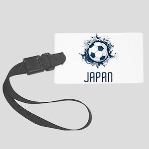 Japan Football Large Luggage Tag