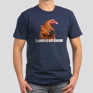American Game Fowl Gear Men's Fitted T-Shirt (dark
