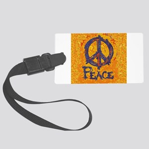 Gustav Klimt Peace Large Luggage Tag