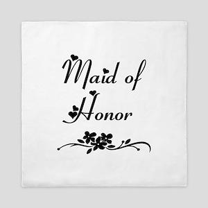 Classic Maid of Honor Queen Duvet