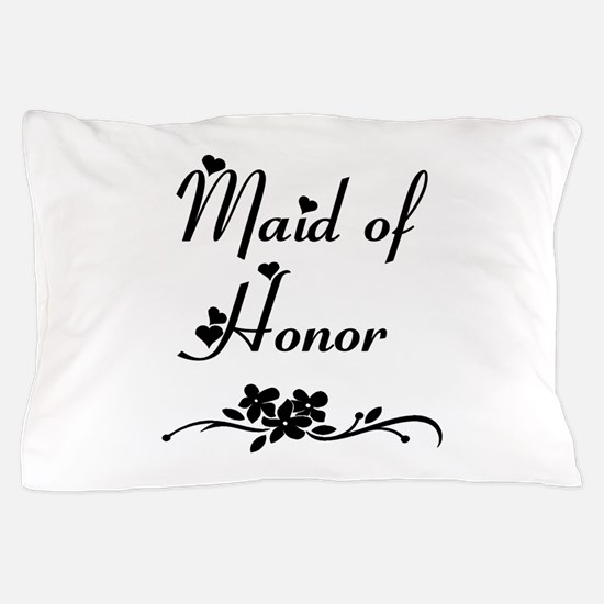 Classic Maid of Honor Pillow Case