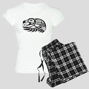 Raven Native American Design Women's Light Pajamas