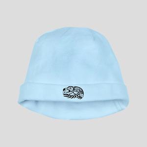 Raven Native American Design baby hat