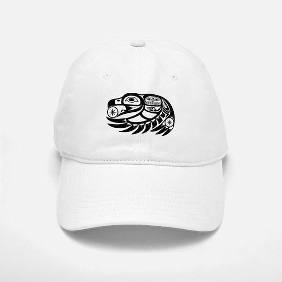 Raven Native American Design Baseball Baseball Cap