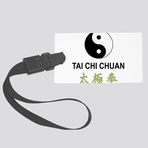 Tai Chi Large Luggage Tag