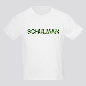 Schulman, Vintage Camo, Kids Light T-Shirt