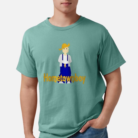farmboyfrowninghometownb Mens Comfort Colors Shirt