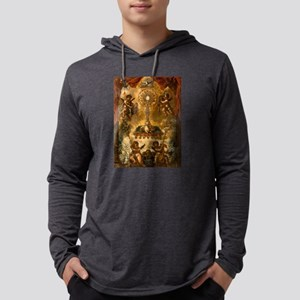 Allegory of the Eucharist Mens Hooded Shirt