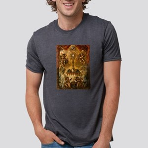 Allegory of the Eucharist Mens Tri-blend T-Shirt