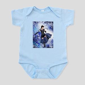 Blue Girl Infant Bodysuit