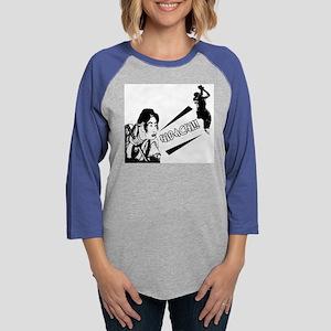 hibachiwhite Womens Baseball Tee