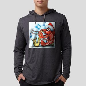 Crayfish Xmas Tee Mens Hooded Shirt