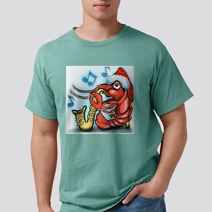Crayfish Xmas Tee Mens Comfort Colors Shirt