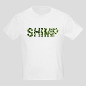 Shimp, Vintage Camo, Kids Light T-Shirt