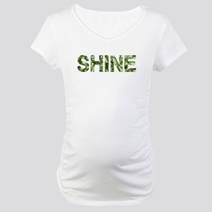 Shine, Vintage Camo, Maternity T-Shirt