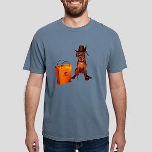 Halloween Doggie Mens Comfort Colors Shirt