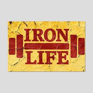 Iron Life Mini Poster Print
