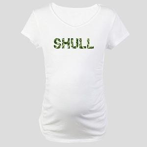 Shull, Vintage Camo, Maternity T-Shirt