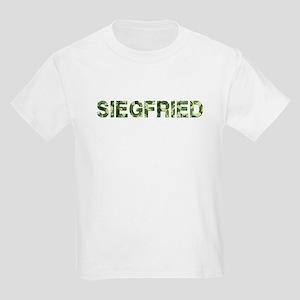 Siegfried, Vintage Camo, Kids Light T-Shirt