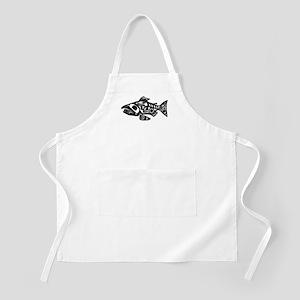 Salmon Native American Design Apron