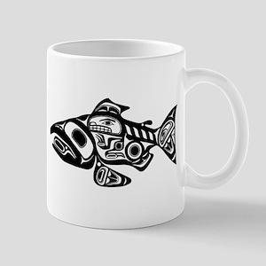 Salmon Native American Design Mug