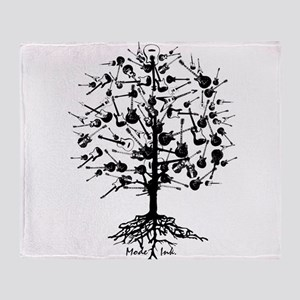 GuitarTree Throw Blanket