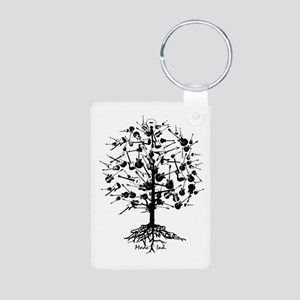 GuitarTree Aluminum Photo Keychain