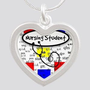 NS 6 Silver Heart Necklace