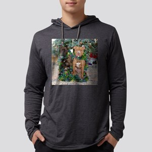 december Mens Hooded Shirt