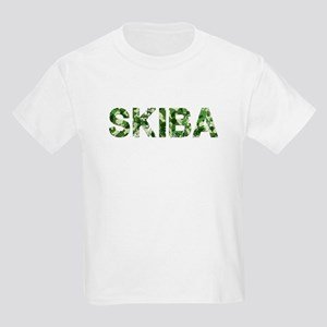 Skiba, Vintage Camo, Kids Light T-Shirt