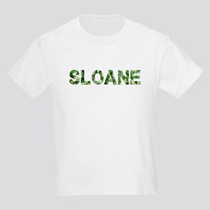 Sloane, Vintage Camo, Kids Light T-Shirt