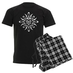 Sun Native American Design Pajamas