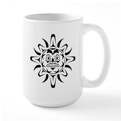 Sun Native American Design Large Mug