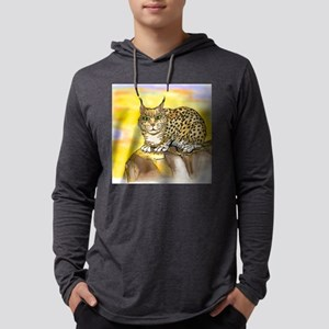 Lynx Tee Mens Hooded Shirt