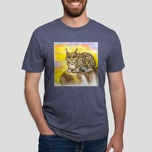 Lynx Tee Mens Tri-blend T-Shirt