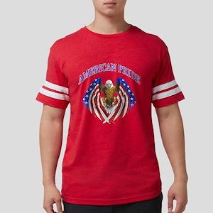 American Pride Eagle Mens Football Shirt