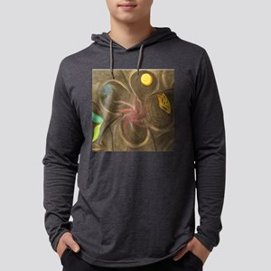 tile dark night Mens Hooded Shirt