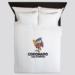 Coronado, California Queen Duvet