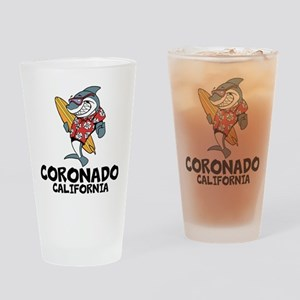 Coronado, California Drinking Glass