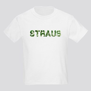 Straus, Vintage Camo, Kids Light T-Shirt
