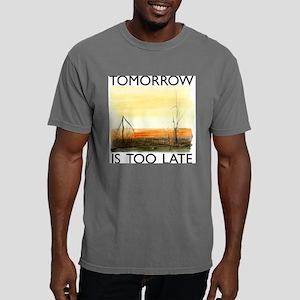 TomorrowIsTooLateDark.pn Mens Comfort Colors Shirt