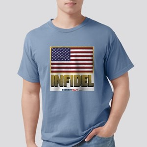WHITE Mens Comfort Colors Shirt