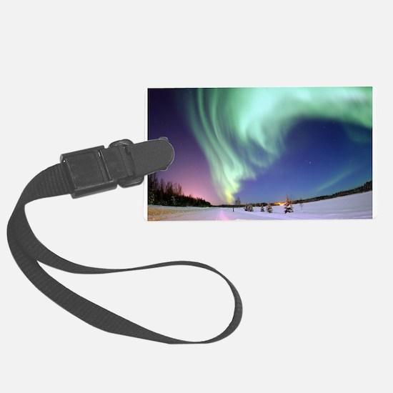 Alaska Aurora Luggage Tag