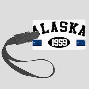 Alaska 1959 Large Luggage Tag