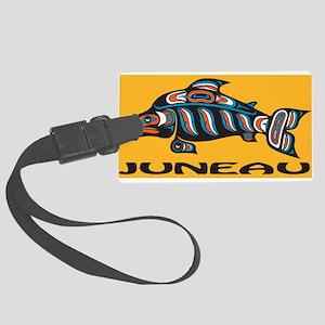 Alaska Juneau Large Luggage Tag